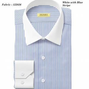 (12) 122026 White collar white cuff