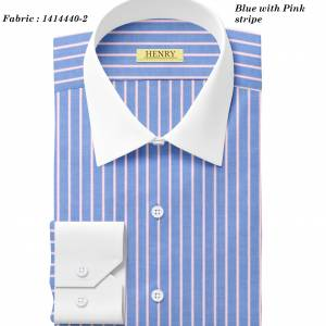 (13) 1414440-2 White collar white cuff