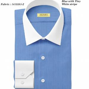(15) 1415581-2 White collar white cuff